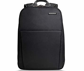 Briggs & Riley Sympatico Backpack, Black, One Size Review