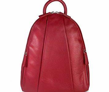 Osgoode Marley Marley Teardrop Multi Zip Backpack – Garnet Review