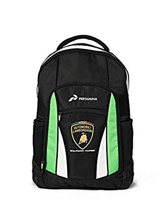 Automobili Lamborghini Accessories Sq. Corse Lamborghini Backpack One Size Black