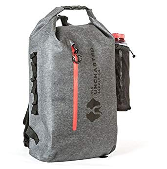 The Seventy2 Waterproof Dry Bag Backpack with Reflective Logos and Emergency Whistle