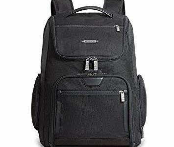 Briggs & Riley @ Work Large U Zip Backpack, Black, One Size Review