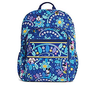 Vera Bradley Campus Backpack Mickey and Minnie Mouse Disney