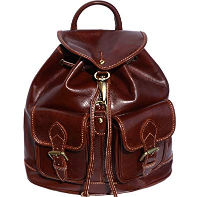Backpack Bag with Two Large Outside Pockets 6554