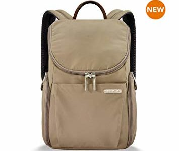 Briggs & Riley Sympatico Small U-Zip Backpack, Caramel, One Size Review