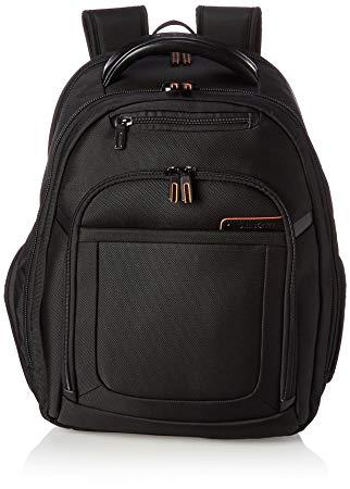 Samsonite Pro 4 DLX Backpack PFT TSA, Black, One Size