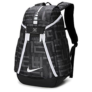 Nike Hoops Elite Max Air Team 2.0 Graphic Basketball Backpack Black/White