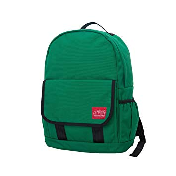 Manhattan Portage Washington Heights Backpack, Green, One Size