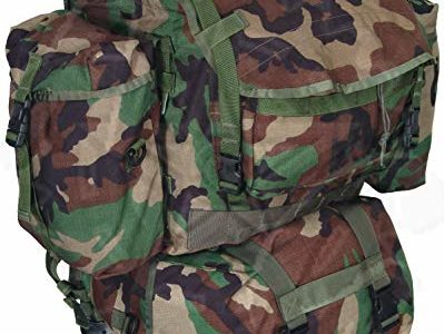 GI Woodland Camo Standard Backpack MOLLE II w/ Sustainment Pouches Review