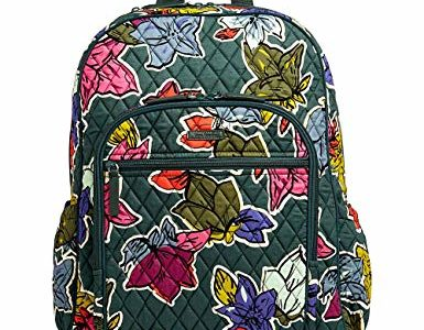 Vera Bradley Women's Campus Tech Backpack Falling Flowers Backpack Review