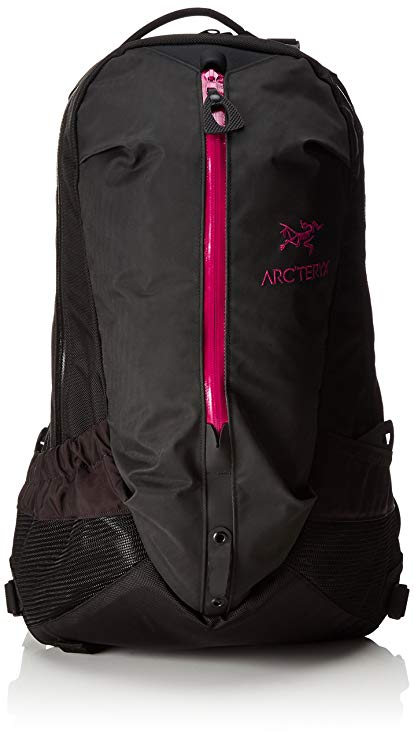 Arc'teryx Arro 22 Backpack (Black/Violet Wine)