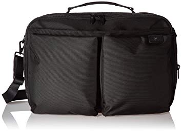 Victorinox Lexicon 2.0 Knapsack Expandable Convertible Overnight Bag, Black