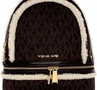 Michael Kors Women's Medium Rhea Zip Signature Leather Backpack Review